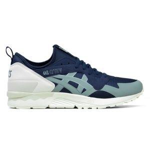 ASICS GEL-LYTE V Blue & Cream Athletic Shoes